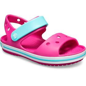 Crocs Crocband Sandals Kids, candy pink/pool